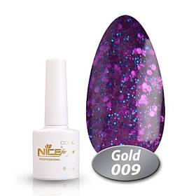 Гель лак NICE COOl GOLD 009