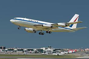 Boeing 720 United. 1/144 RODEN 320
