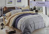 Комплект постельного белья двуспальный байка Classic сатин (F-874)