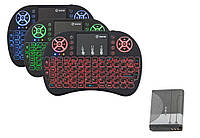 Беспроводная мини клавиатура RII i8 С ПОДСВЕТКОЙ и аккумулятором