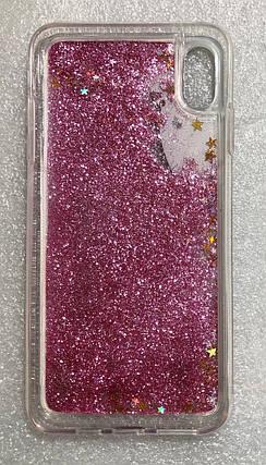 Силиконовый чехол Iphone XS Max №1 с водой переливаются, фото 2