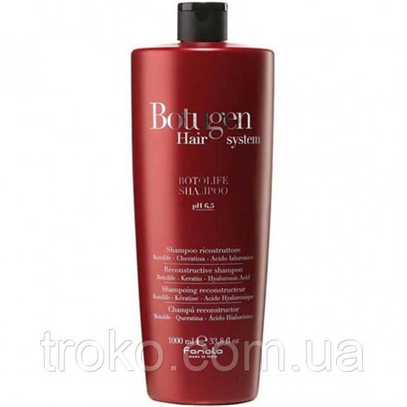 Шампунь для реконструкции волос Fanola Botugen Hair System Botolife Shampoo 1000 мл