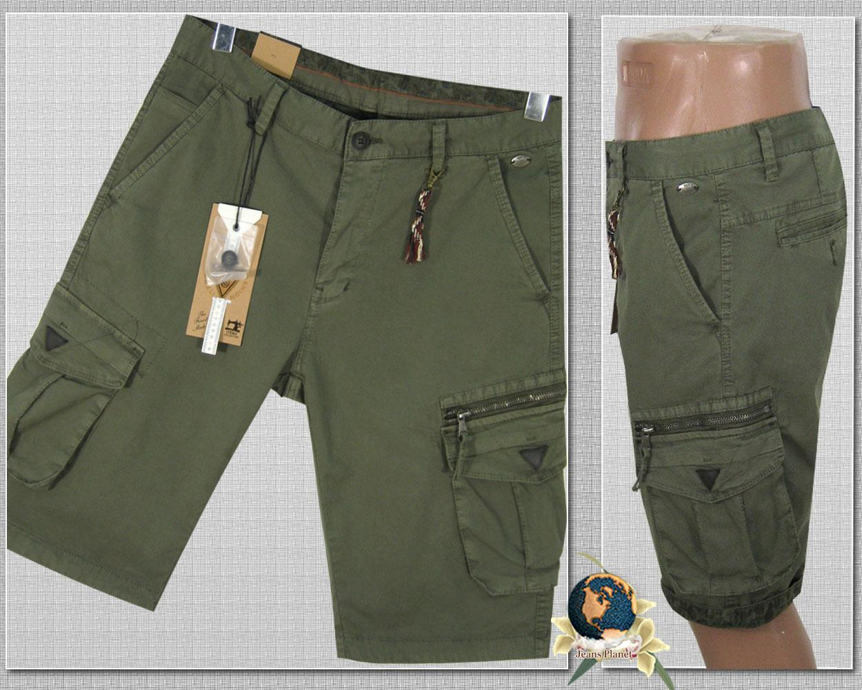 Шорты мужские карго с карманами Iteno хаки светлый 29 размер