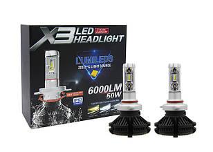 Автомобильные лампы | Светодиодная LED лампа X3 H1