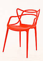 Кресло пластиковое Bari, Красный , фото 1