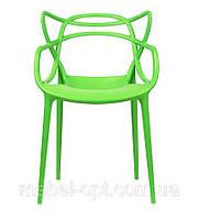 Крісло пластикове Bari, Зелений, фото 1