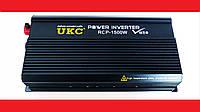 AC/DC RCP 1500W PROFESSIONAL преобразователь напряжения 12-220V, фото 1