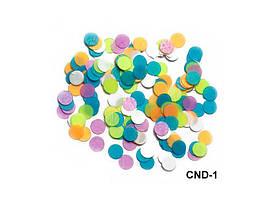 Разноцветное конфетти для ногтей (камифубуки)