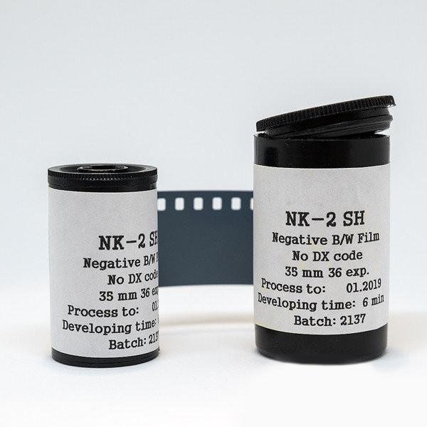 Кино-фотопленка черно-белая негативная Astrum НК-2Ш 135-36