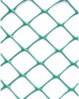 Сетка 28*25 мм садовая пластиковая (заборная ПВХ), длина 20 м