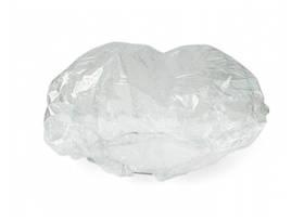 Шапочки одноразовые на резинке, полиэтилен (1шт) Standart Турция