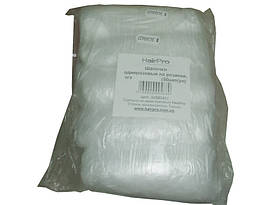 Шапочки одноразовые на резинке, полиэтилен Standart (50шт/уп) Турция