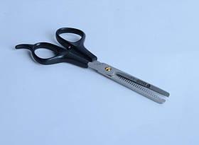 Ножницы филлера 5'5 SALON пластик черный