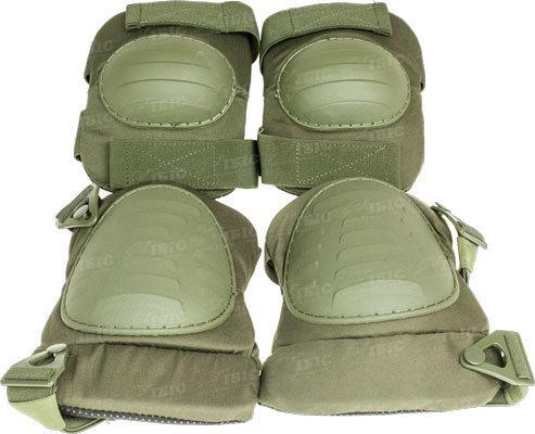 Комплект защитный Skif Tac наколенники и налокотники ц:olive drab