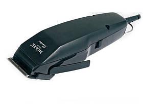 Машинка Moser Classic чорна 1400 (вібр., 10Вт, регул. ніж, насадки №1 та унів. 4-18 мм)
