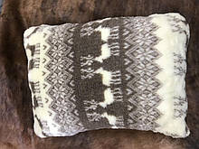 Подушка из овчины, размер 55*40 см \ Tvd - 1422