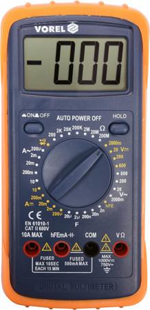Цифровой мультиметр универсальный Vorel 81783 (Польша)