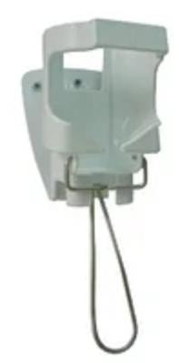 Аерлесс (ANIOS Airless) - дозатор жидкого мыла, полимерный, с локтевым рычагом, нержавеющая сталь, 1000 мл