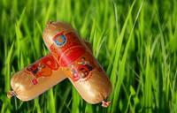 """Сир плавлений ковбасний """"Український - плюс"""" з грибами"""