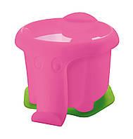 Стакан-непроливайка Pelikan Elephant розовый