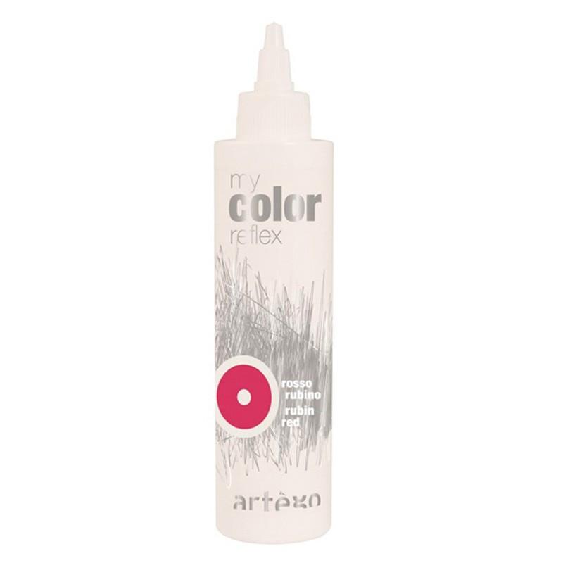 Гель My Color Reflex - смарагдово-червоний 200мл.