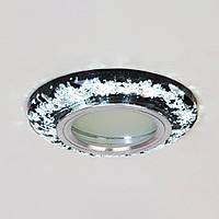 Точечный светильник со встроенной LED подсветкой 3Вт под лампочку MR16 СветМира  D-0189S