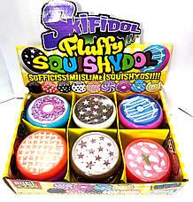 Слайм  99306 Fluffy Squishydo аром. в браслете 7см., лизун, жвачка для рук, slime, фото 2
