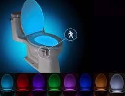 🔥 LED подсветка illumiBowl для унитаза с датчиком движения