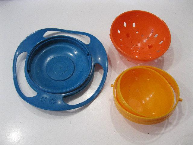 🔥 Тарелка-неваляшка, тарелка-непроливайка Universal Gyro Bowl