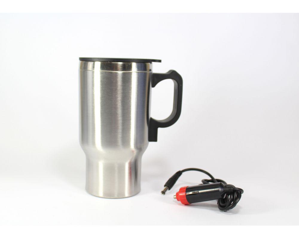 🔥 Термокружка CUP 2240 автомобильная с подогревом, фото 1