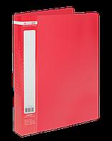 Папка с 60 файлами Buromax Jobmax А4 красная