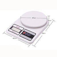 🔥 Кухонные весы Domotec ACS MS-400 до 10kg