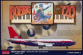 Boeing 720 Elton John tour. 1/144 RODEN 315