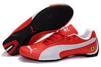 Мужские кроссовки Puma Ferrari Low (пума феррари, оригинал) красные