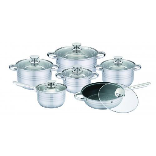 🔥 Набор посуды Uniqye UN-5033 12 предметов