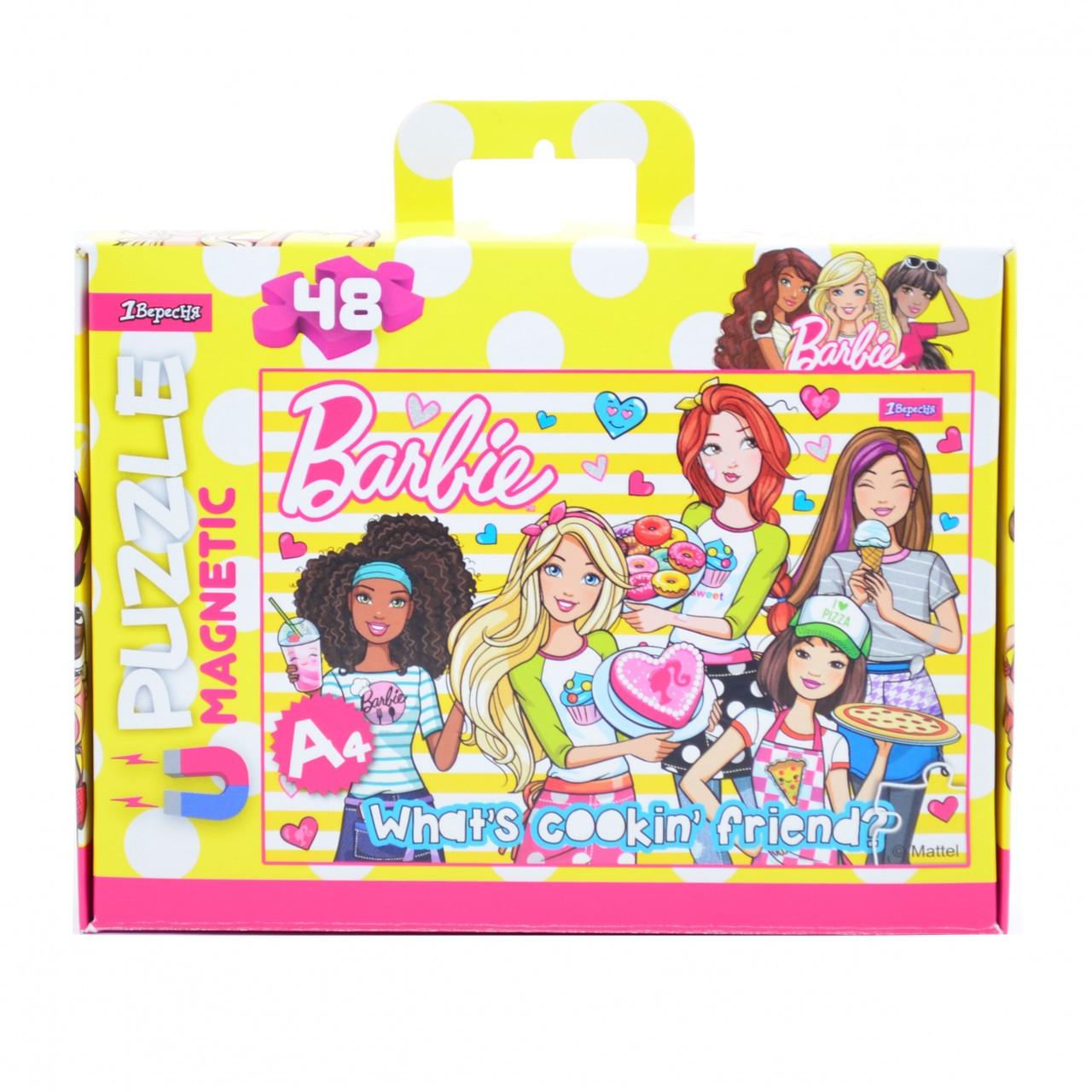 """Пазл магнитный А4 """"Barbie"""""""