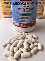 Glucosamine HCI 1500mg with MSM Kirkland 50шт