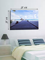 Фотографическая картина «Дорога на пляж»