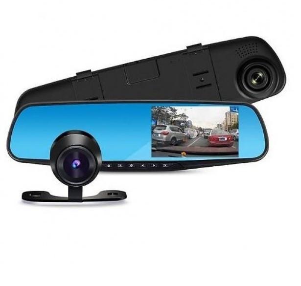 🔥 DVR L 9000 зеркало с двумя камерами