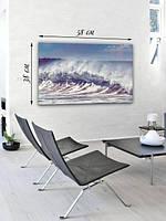 Фотографическая картина «Бушующее море»