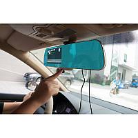 Зеркало заднего вида с видеорегистратором DVR A23 зеркало с двумя камерами, фото 1