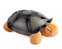 🔥 Музыкальный проектор звездного неба черепаха Turtle small, Цвет Розовый