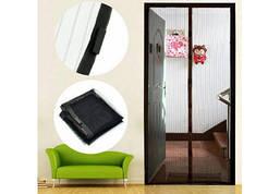 Антимоскитная сетка штора на магнитах Magic Mesh на двери