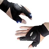 🔥 Перчатка с подсветкой на пальцах Hands Free, фото 1