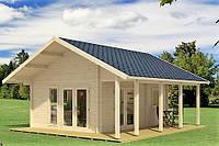 Дом деревянный из профилированного бруса 5.6х4.5. Скидка на домокомплекты на 2020 год