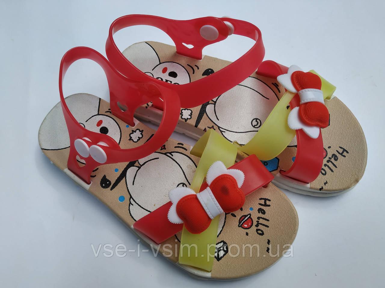 Детские босоножки для девочки 35 р 19 см