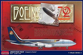 """Boeing 720 """"Caesar's Charriot"""". 1/144 RODEN 317"""