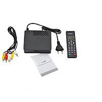 🔥 Тюнер DVB-T2 2058 Metal, Ресивер эфирный цифровой