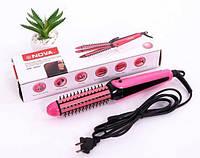 Плойка для волос Nova NHC-8890 3в1