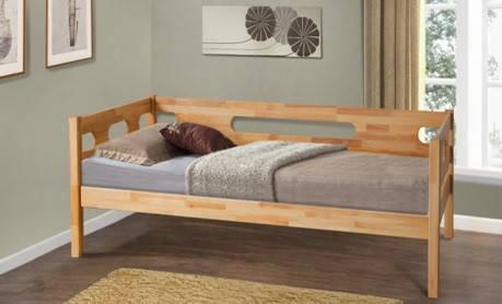 Кровать Сьюзи Бук натуральный (Микс-Мебель ТМ), фото 2